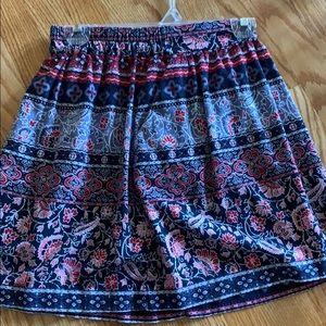 Petite loft outlet skirt